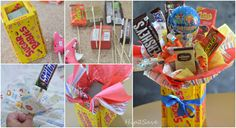 Easy Candy Bouquet DIY by Hip2Save