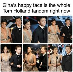 Tom was probably really nervous