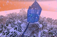 Frozen minecraft map