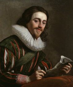 King Charles I by Gerrit van Honthorst oil on canvas, 1628 30 in. x 25 1/4 in. (762 mm x 641 mm)