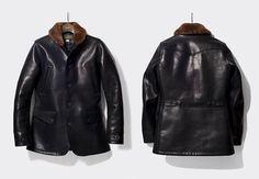 "lastofthetruecom: ""#orgueil #japan #leather #leatherjacket #horsehide #menstyle #handmade #menswear """