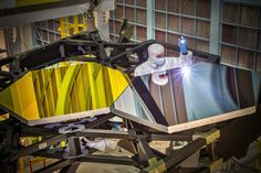 NASA's next big space telescope costs $8 billion and is very heavy. New York scientists think they may have found the makings of a cheaper, lighter answer for future space scopes — in a crafts store.