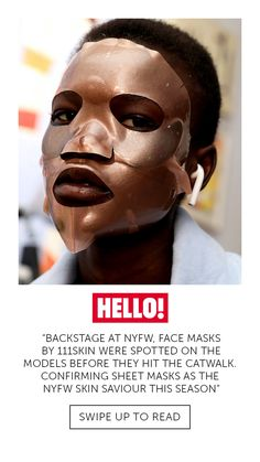 Face masks by were spotted on the models before they hit the catwalk, confirming sheet masks at the New York Fashion Week saviour this season. Sheet Mask, Real Housewives, Might Have, Face Masks, Catwalk, New York, Models, News, Fashion