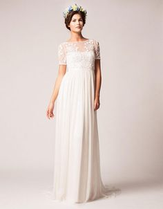 Brands | Wedding Gowns | Saffron A-Line Gown | Hudson's Bay