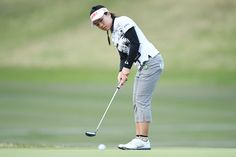 Pei-Ying Tsai Photos Photos - Pei-Ying Tsai of Taiwan putts on the 18th green during the second round of the CyberAgent Ladies Golf Tournament at the Grand Fields Country Club on April 29, 2017 in Mishima, Japan. - CyberAgent Ladies Golf Tournament - Day 2