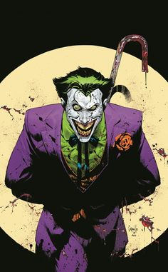 Joker Anniversary Super Spectacular Cover A Regular Greg Capullo Cover Joker Batman, Superman, Batman Comic Art, Gotham Batman, Batman Robin, The Joker, Joker Kunst, Batman Kunst, Greg Capullo