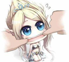 Chibi Janna Chibi Girl, Lol League Of Legends, Cute Chibi, Manga, Kamen Rider, Funny Games, Smurfs, Kawaii, Fantasy