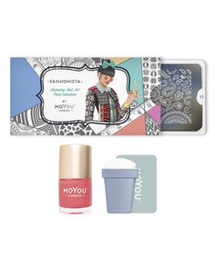 Loving this Fashionista Nail Art Stamp Plate Starter Set on #zulily…