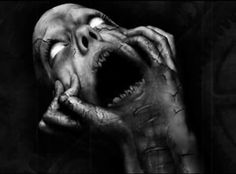 Dark picture by Azgleff. Visit this page to see more dark scary pictures Arte Horror, Horror Art, Horror Movies, Horror Film, Gothic Horror, Images Terrifiantes, Dark Images, Dark Pictures, Art Sinistre