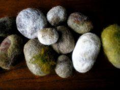 felted river rocks   Flickr - Photo Sharing!