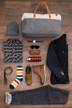 Nice essentials. Jack threads via www.raddestlooks.org