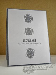 Uniko Studio: Wishing You. Days Till Christmas, Christmas Cards, Happy Weekend, Christmas Inspiration, Doilies, Wish, Studios, Joy, Hands