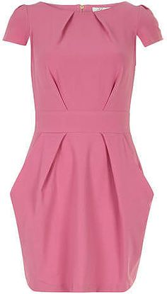Womens rose dress from Dorothy Perkins - £22.50 at ClothingByColour.com