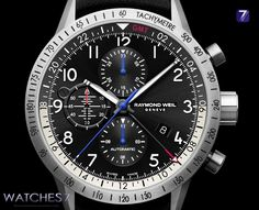 RAYMOND WEIL – FREELANCER PIPER GMT Chronograph