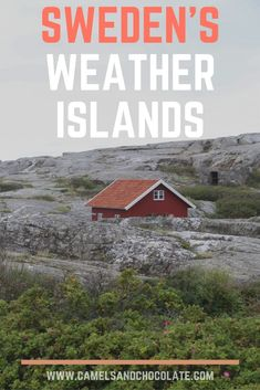 Island-Hopping in West Sweden: The Rugged Weather Islands. The Weather Islands are a cluster of 365 isles, only one of which is inhabited by a guesthouse and its employees. If you love quiet islands, colorful buildings, and seafood, a visit to Sweden's Weather Islands is a must - click through to read about our experience on the Weather Islands of Sweden. | Camels and Chocolate #sweden #weatherislands #seafood