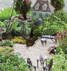 Jim Long's Garden: Fairy Gardens, Garden Fairies