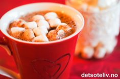 Hot Chocolate with Marshmallows Chocolate Marshmallows, Hot Chocolate, Food And Drink, Cookies, Breakfast, Tableware, Recipes, Caramel, Crack Crackers