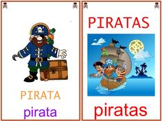 LIBRO VOCABULARIO PIRATAS by Aranzazu García via slideshare