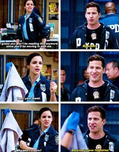 Brooklyn Nine Nine Aka The Best Tv show ever! ❤❤