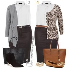 Below you will find the ideas and tips on trendy and flattering curvy women outfits for fall.