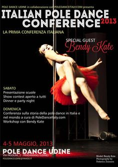 2013 Italian Pole Dance Conference This Weekend!