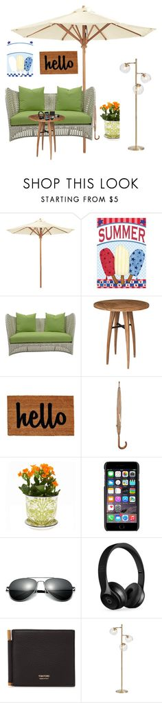 """My house."" by bradyw-1 ❤ liked on Polyvore featuring Ballard Designs, David Francis Furniture, Dolce&Gabbana, Beats by Dr. Dre, Tom Ford, PBteen, men's fashion and menswear"