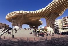 "Metropol Parasol aka ""Las Setas"" or ""The Mushrooms in Seville, Spain."