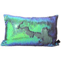 Aviva Mermaid Sequins Pillow in Amethyst