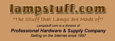 LAMPSTUFF.COM - Buy lamp-making kits & supplies like sockets, wire, cords, etc.