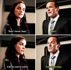 Agents of S.H.I.E.L.D. 2x12: Who You Really Are - Coulson and Sif