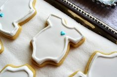 onesie cookies- these look simple enough for my first try.