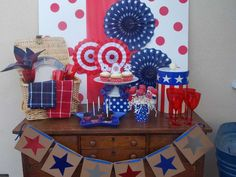 4th of July spread under $20 | CatchMyParty.com