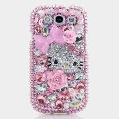 Crystal Sparkle Diamond Hello kitty case