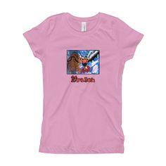 Dragon Girls Short Sleeve T-Shirt XS-XL by Kate Jay