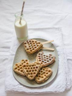 Waffles with hazelnut