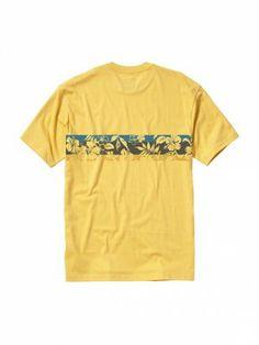 Camiseta Quiksilver Men's Bando T-Shirt Cornsilk #Camisetas #Quiksilver