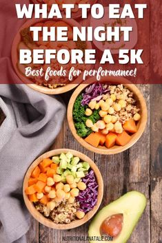 What you eat the night before a 5k can affect your performance. Here are some healthy dinner options for the night before a race! #runner #race #5k Best Food For Runners, Runners Food, Nutrition For Runners, Nutrition Tips, Healthy Dinner Options, Healthy Dinner Recipes, Sweet Potato Kale, Whole Wheat Pita, Balanced Meals