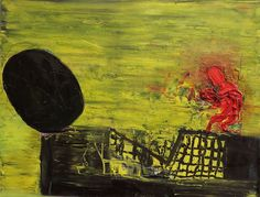 Ready for a Fight Oil on Paper 2014 Large Painting, Artist Painting, New Artists, New Work, Modern Art, Paintings, Abstract, Paper, Art
