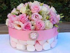 Inspiration Gallery for Pink Wedding Decor Table Centerpieces, Wedding Centerpieces, Wedding Table, Centrepieces, Centerpiece Decorations, Wedding Ideas, Deco Floral, Floral Design, Floral Wedding