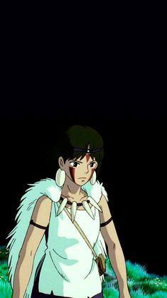 Hayao Miyazaki, Studio Ghibli Art, Studio Ghibli Movies, Totoro, Princes Mononoke, Princess Mononoke Wallpaper, Studio Ghibli Background, Fanart, Animation Film
