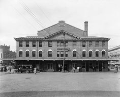 The City Market Building, shortly after its dedication. March 23, 1922.