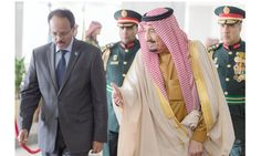 2/24/2017 SAUDI ARABIA/ SOMALIA: In Riyadh, Somali President Mohamed Abdullahi met King Salman at Al-Yamamah Palace on his 1st foreign trip. The 2 leaders discussed bilateral cooperation to further enhance relations. King Salman &  the Somali president discussed the latest developments in the region including political, econo...