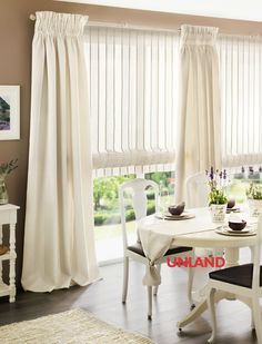 Unland Arely, Fensterideen, Vorhang, Gardinen und Sonnenschutz - curtains, contract fabrics, pleated blinds, roller blinds and more. Made in Germany