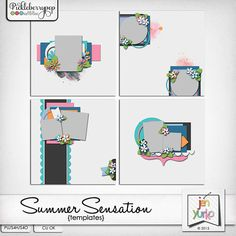 Summer Sensation {Templates}