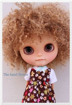 For Jose Hendrik .Commissions Blythesdoll. by Thehandflower