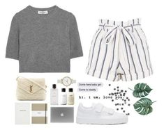 A fashion look from December 2017 featuring cashmere sweater, summer shorts and white sneakers. Browse and shop related looks. Cute Casual Outfits, Pretty Outfits, Stylish Outfits, Modelos Fashion, Mein Style, Teen Fashion Outfits, Polyvore Outfits, Everyday Outfits, Aesthetic Clothes