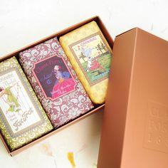 Claus Porto 3 Soaps Classico Copper Gift Box