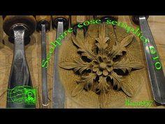Esercizio di intaglio e scultura 002.wmv - YouTube
