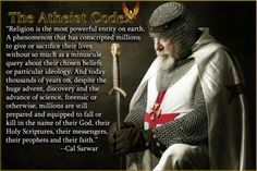 Religion has conscripted millions to give or sacrifice their lives…