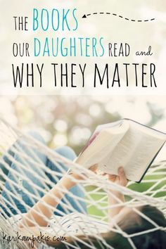 """""""The Books Our Daughters Read - and Why They Matter."""" A blog post about current trends in the YA market, and why parents should be aware of them so they can counter with the truth."""